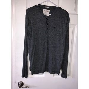 Men's Abercrombie & Fitch Henley